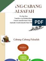 CABANG-CABANG FALSAFAH