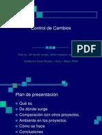Control de Cambios para proyectos