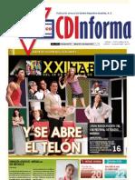 CDInforma, número 2604, 25 de iyar de 5773, México D.F. a 5 de mayo de 2013