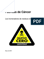 Fabricas Del Cancer