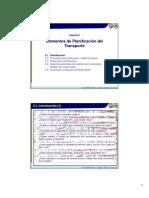 Elementos de Planificacion de Transporte CAP II