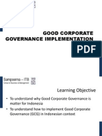 3 - Good Corporate Governance Implementation