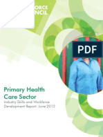 Wfc Industry Skills Report Primary Health Care 2012-09-24