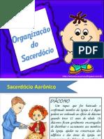 capítulo 14 - a organização do sacerdócio