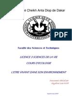 Cours D'écologie