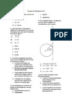 Examen de Matematicas III Tipo Enlace