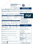 Application for Driver's License Form