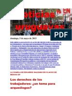 Noticias Uruguayas Domingo 5 de Mayo Del 2013