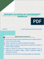 Proyecto Mejora Mtto Derivados Lacteos 19nov04