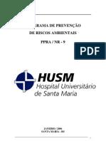 PPRA hospital universitário de santa maria