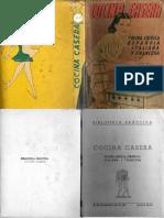 019 - cocina casera (cocina criolla, española, italiana y francesa) 1949