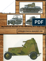 Mechanised Warfare of the Blitzkrieg Era 1939-1941