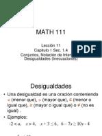 Conjuntos-notacion de Intervalos