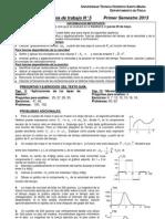 Guia Trabajo 5 Aplicaciones Principios de Newton 1D Con Fuerzas Variables S1 2013 1