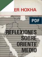 Enver Hoxha Reflexiones Sobre Oriente Medio Esp