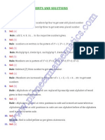 NTSE Sample Paper Solutions.