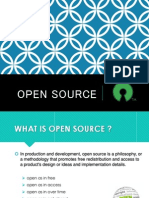 OPEN SOURCE SEMINAR PRESENTATION