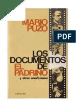 Puzo Mario - Los Documentos de El Padrino