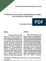 Teoria Politica Contemporanea - Artigo