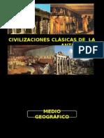 Civilizaciones clásicas de la antigedad
