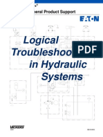 Logical Troubleshooting in Hydraulic Systems