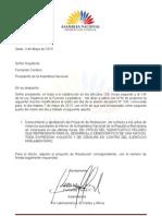 Pronunciamiento de la Asamblea Nacional del Ecuador sobre la situación en Venezuela