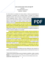 La Dimension Social Del Roman Arturico
