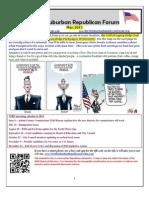 NSRF May 2013 Newsletter
