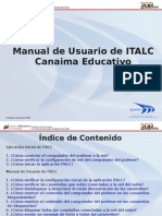 Manual de Usuario ITALC Canaima Educativo