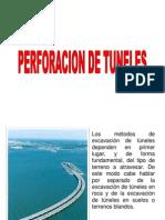 PERFORACIÓN DE TUNELES