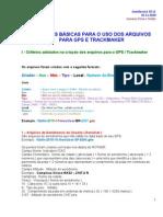 Manual Para Uso Dos Arquivos Para o GPS e TrackMaker Atualizacao Novembro 2010