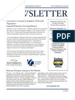 Patterson Newsletter May 2013
