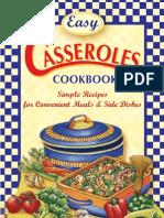 Easy Casseroles Cookbook