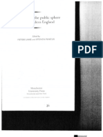The Politics of the Public Sphere in Early Modern England by Stephen Pincus