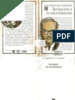 Invitación a la microhistoria.-Luis GonzálezOCR