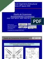 Diseño de Conexiones con Arriost Concéntricos_Agosto 09