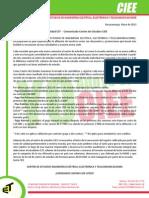 Comunicado CIEE - Mayo 2013