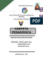 Carpeta Pedagogica Fredy Casi Vista