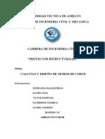 DISEÑO MUROS DE CORTE