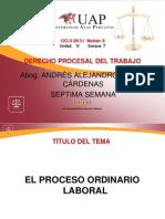 AYUDA 7 - El Proceso Ordinario Laboral.ppt