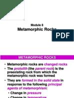 Module 8 - Metamorphic Rocks