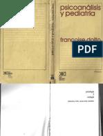 132771664 Psicoanalisis y Pediatria Francoise Dolto
