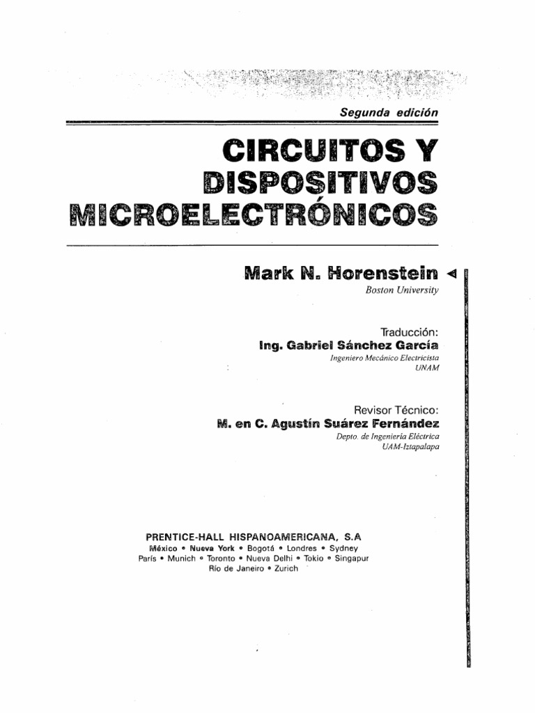 microelectronica horenstein