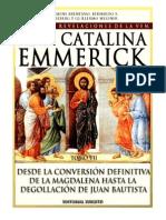 120403577 Tomo 07 Desde La Conversion Definitiva de La Magdalena Hasta La Degollacion de Juan Bautista Beata Ana Catalina Emmerick Visiones y Revelaciones