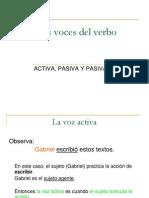 Las Voces Del Verbo