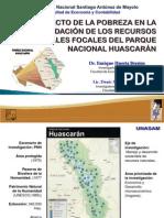 EFECTO DE LA POBREZA EN LA DEGRADACIÓN DE LOS RECURSOS NATURALES FOCALES DEL PARQUE NACIONAL HUASCARÁN