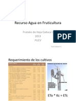 Recurso Agua en FHC1 2013 AV