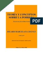 12 OV Teoria y Conceptos Sobre La Pobreza