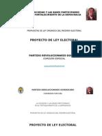 Propuesta Ley Electoral 31-Oct-12 (1)
