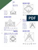 Areas de Regiones Sombreadas PDF Ejercicios Resueltos de Razonamiento Matematico Nivel Preuniversitario ~ Matematica Ejercicios Resueltos
